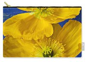 Two Yellow Iceland Poppies Carry-all Pouch