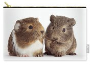 Two Young Guinea Pigs Carry-all Pouch