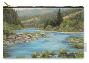 Tyee Morning Carry-all Pouch by Karen Ilari
