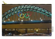 Tyne Bridge At Night II Carry-all Pouch