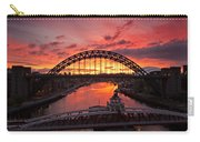 Tyne Bridges At Sunrise IIi Carry-all Pouch