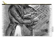 Typesetter, 19th Century Carry-all Pouch