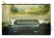 Typewriter By Window Carry-all Pouch