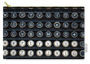 Typewriter Keyboard Carry-all Pouch by Hakon Soreide
