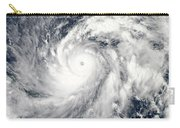 Typhoon Sanba Over The Pacific Ocean Carry-all Pouch