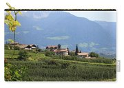Tyrolean Alps And Vineyard Carry-all Pouch