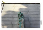 Uc Berkeley . Sather Tower . The Campanile . Clock Tower . Bust Of Abraham Lincoln . 7d10070 Carry-all Pouch