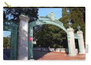 Uc Berkeley . Sproul Plaza . Sather Gate . 7d10039 Carry-all Pouch