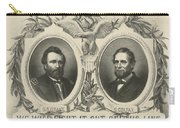 Ulyssess S Grant And Schuyler Colfax Republican Campaign Poster Carry-all Pouch