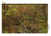 Unami Creek Feeder Stream In Autumn - Green Lane Pa Carry-all Pouch