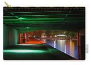 Under The Bridge Carry-all Pouch by Joann Vitali