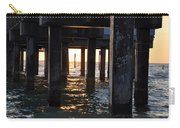 Under The Pier Carry-all Pouch by Bill Cannon