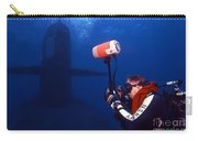Underwater Photographer Takes Photos Carry-all Pouch by Michael Wood