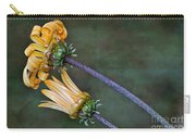 Unfurling Daisy Carry-all Pouch