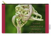 Unfurling Faith Carry-all Pouch