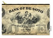 Union Banknote, 1863 Carry-all Pouch