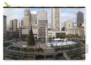 Union Square Sf Carry-all Pouch by Ron Bissett
