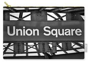 Union Square  Carry-all Pouch by Susan Candelario