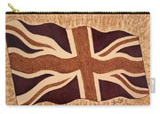 United Kingdom Flag Coffee Painting Carry-all Pouch