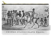 United States Slave Trade Carry-all Pouch by Photo Researchers