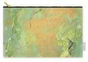 Untitled Abstract - Caramel Teal Carry-all Pouch