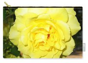 Upbeat Yellow Rose Carry-all Pouch
