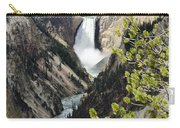 Upper Falls Of The Yellowstone River Carry-all Pouch