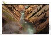 Upper Yellowstone Falls Carry-all Pouch