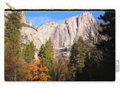 Upper Yosemite Falls In Autumn Carry-all Pouch