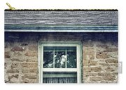 Upstairs Window In Stone House Carry-all Pouch