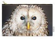 Ural Owl Carry-all Pouch by Tom Gowanlock