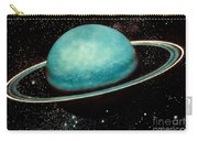 Uranus With Its Rings Carry-all Pouch