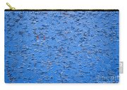 Urban Abstract Blue Carry-all Pouch