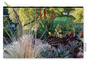 Urban Garden With Cactus Carry-all Pouch