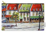 Urban Montreal Street By Prankearts Carry-all Pouch