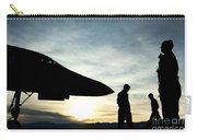 U.s. Air Force Airmen Prepare Carry-all Pouch