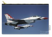 U.s. Air Force F-16 Thunderbirds Carry-all Pouch