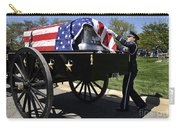 U.s. Air Force Honor Guard Straightens Carry-all Pouch