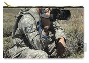 U.s. Air Force Sergeant Shoots Video Carry-all Pouch