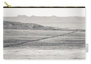 U.s. Alt-89 At Vermilion Cliffs Arizona Bw Carry-all Pouch