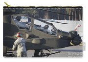 U.s. Army Ah-64d Apache Helicopter Carry-all Pouch