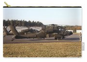 U.s. Army Ah-64d Apache Helicopters Carry-all Pouch