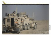 U.s. Army Cougar Mrap Vehicles Carry-all Pouch