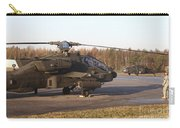 U.s. Army Helicopters At The Letzlingen Carry-all Pouch