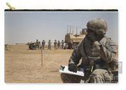 U.s. Army Radio Operator Communicates Carry-all Pouch