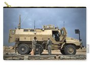 U.s. Army Sergeant Refuels A Caiman Carry-all Pouch