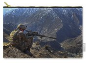 U.s. Army Sniper Provides Security Carry-all Pouch