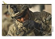 U.s. Army Soldier Communicates Carry-all Pouch