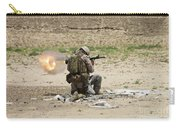 U.s. Army Soldier Fires Carry-all Pouch