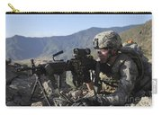 U.s. Army Soldier Provides Overwatch Carry-all Pouch